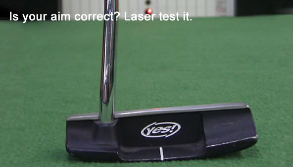 Is your aim correct? Laser test it.