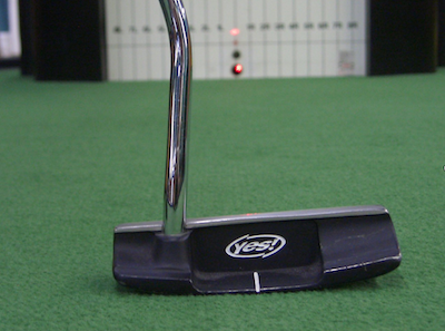 The Yes Putter - accurate aim